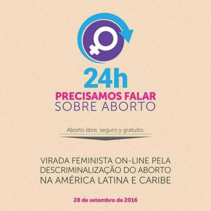 O evento on-line vai promover um dia inteiro de discussão sobre aborto