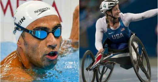 Atletas recebem prêmio como exemplos de espírito Paralímpico