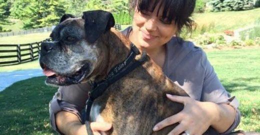 Casal adota cachorro rejeitado por ter doença degenerativa