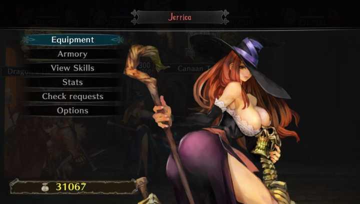 """A sorceress de """"Dragon's Crown"""" representações hypersexualizadas de mulheres continuam comuns nos games."""