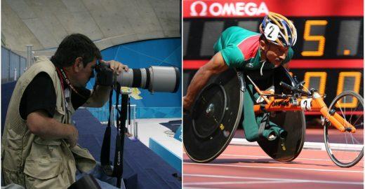 Fotógrafo deficiente lança vaquinha para registrar Paralimpíada