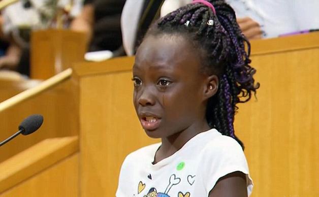 Menina De 9 Anos Faz Discurso Emocionante Sobre Viol 234 Ncia