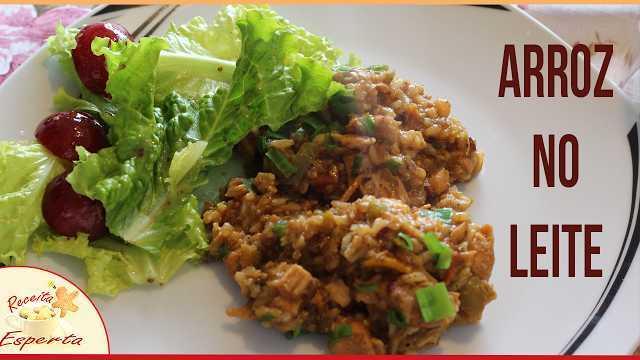 arroz de leite com frango