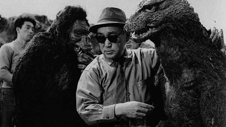 "Registro dos bastidores de ""King Kong vs Godzilla"", filme japonês de 1962"