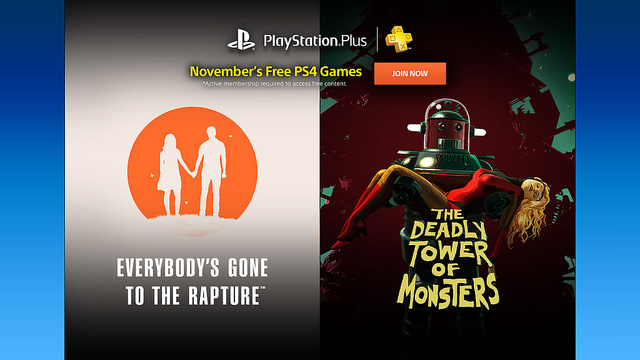"""Everybody's Gone to the Rapture"" e ""The Deadly Tower of Monsters"", os game de graça do PlayStation Plus para o PS4"