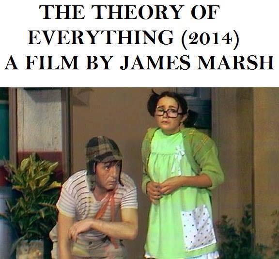 A Teoria de Tudo, cópia de Chaves dirigida por James Marshal