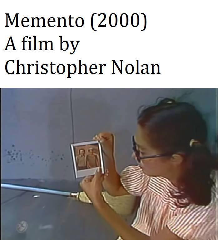Amnésia, cópia de Chaves dirigida por Christopher Nolan