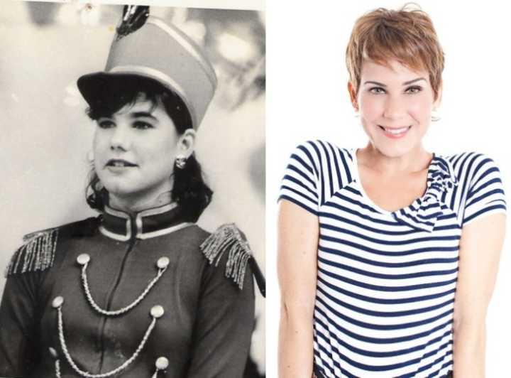 Andréa Veiga foi a primeira assistente de palco de Xuxa e ficou conhecida como a paquita de número 1