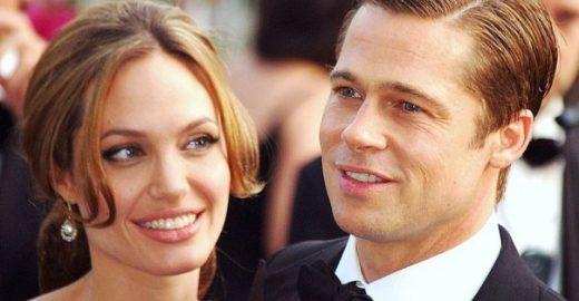 Brad Pitt encontra filhos acompanhado por um terapeuta