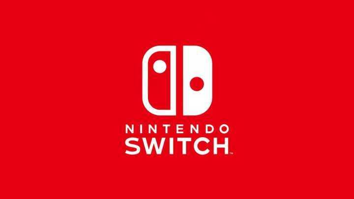 O logo do Nintendo Switch.