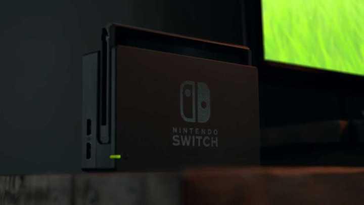 O Switch funciona também como um console normal ligado à TV.