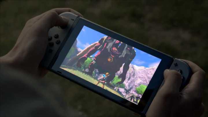 O Switch, da Nintendo, que é portátil e console ao mesmo tempo.