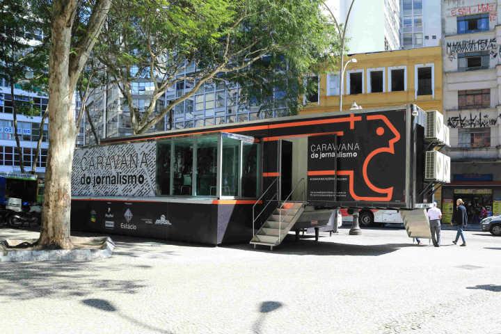 Caravana do Jornalismo chega ao Rio