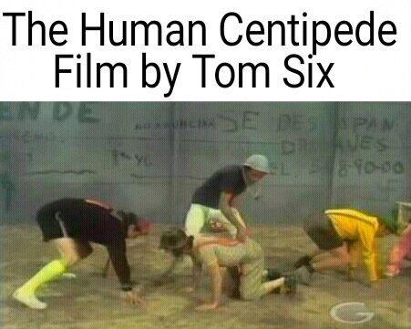 A Centopéia Humana, cópia de Chaves dirigida por Tom Six