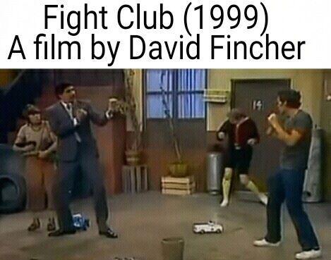 Clube da Luta, cópia de Chaves dirigida por David Finche