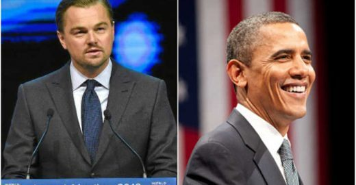 DiCaprio e Obama pedem mobilização para conter mudança climática