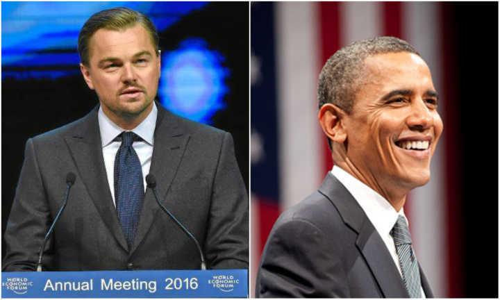 DiCaprio e Obama se uniram para mobilizar as pessoas contra os efeitos das mudanças climáticas