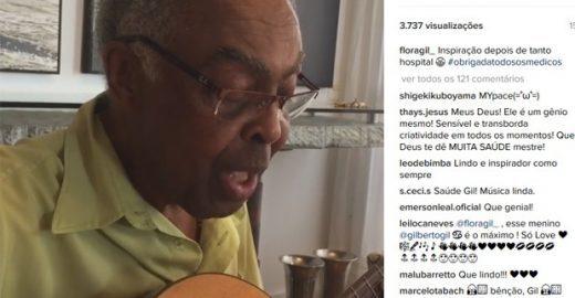 Depois de 45 anos, música cantada por Gil é revelada