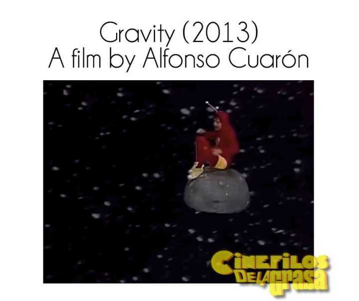 Gravidade, cópia de Chaves dirigida por Alfonso Cuarón
