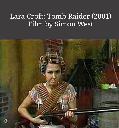 Lara Croft, cópia de Chaves dirigida por Simon West