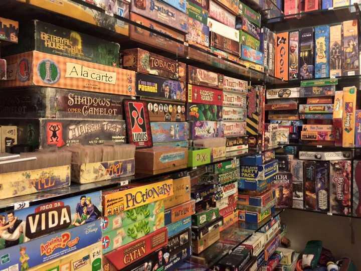 Ludus Luderia tem mais de 900 jogos de tabuleiro