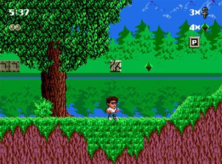 """""""Kid Chameleon"""" está entre os games inclusos no novo console."""