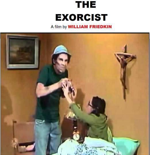 O Exorcista, cópia de Chaves dirigida por Willian FriedKin