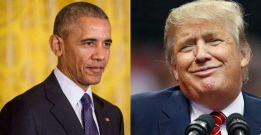 Vídeo mostra Donald Trump e Barack Obama falando sobre mulheres