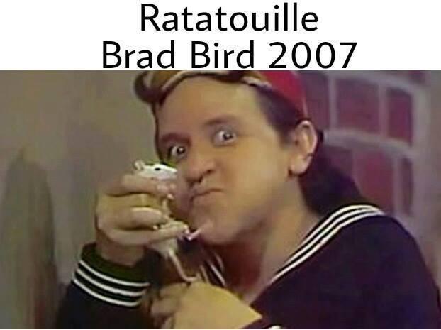 Ratattouille, cópia de Chaves dirigida por Brad Bird