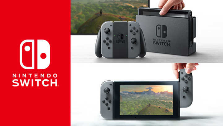 """O """"Switch"""", da Nintendo."""