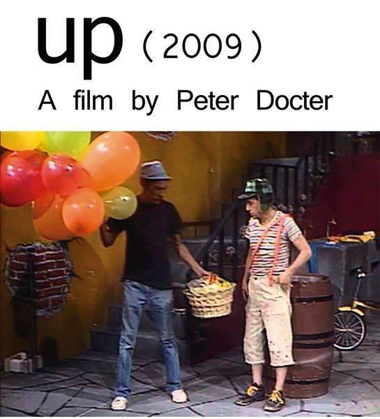 Up - Altas Aventuras, cópia de Chaves dirigida por Peter Docter