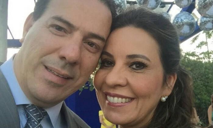 Ruy Muniz e sua esposa