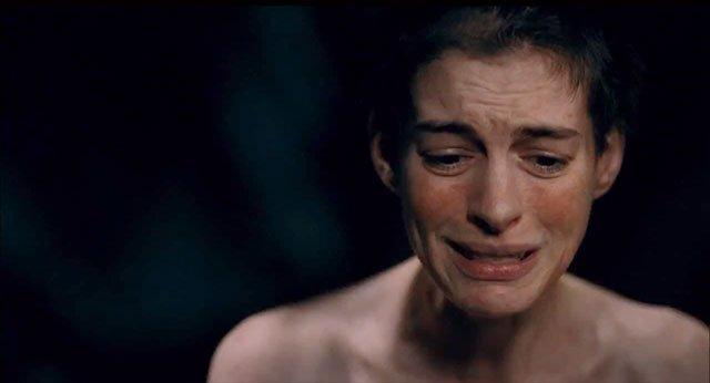 Anne Hathaway em 'Os Miseráveis'