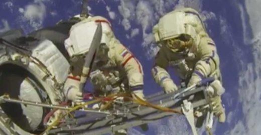 Páginas do Facebook enganaram todo mundo com ao vivo no espaço