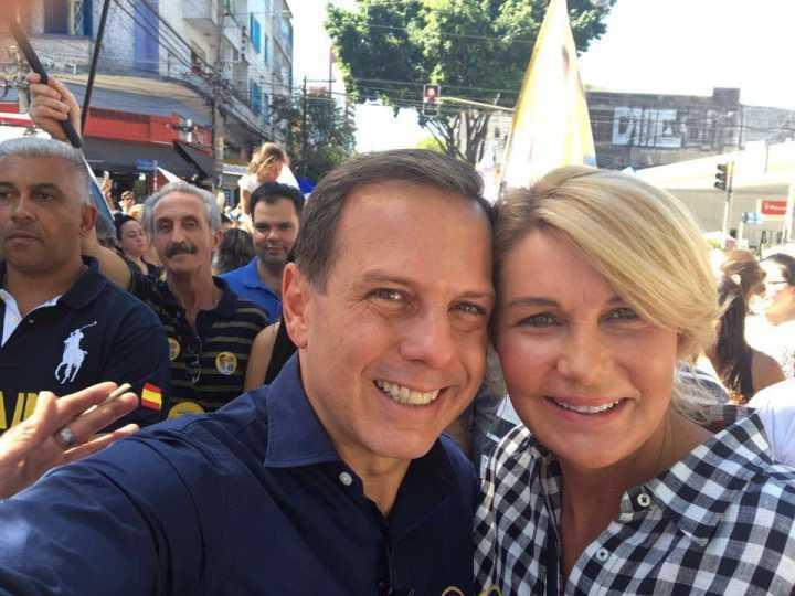 O futuro prefeito e a nova primeira-dama, João e Bia Doria