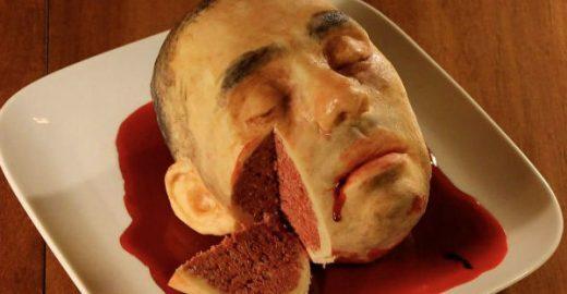 Artista faz bolos realistas (e assustadores); confira