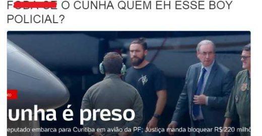 Quem é este policial ~magia~ que conduziu a prisão do Cunha?