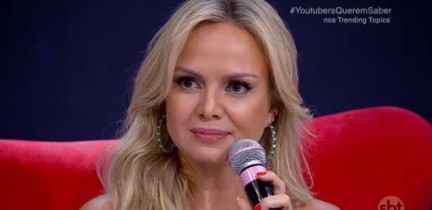 A apresentadora Eliana comentou sobre a desigualdade de gênero no país