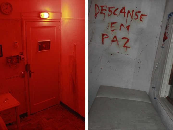 A sala Asylum é para quem curte terror e suspense