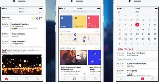 Facebook lança app Eventos pra você não perder nada!