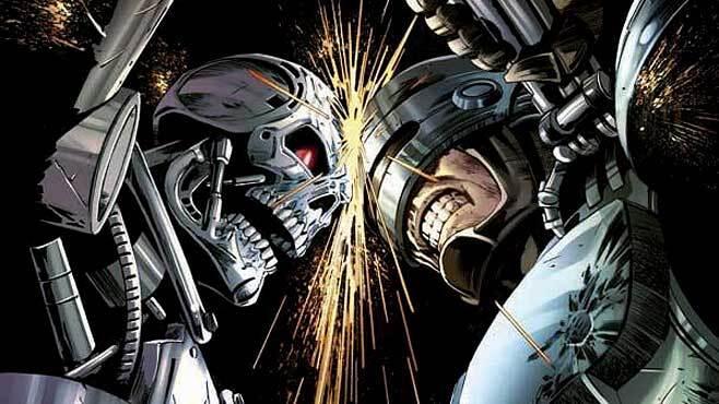 Representação artística do Guerra de Robôs.