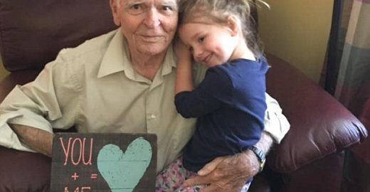 Amizade: menina de 4 anos aquece coração de viúvo solitário
