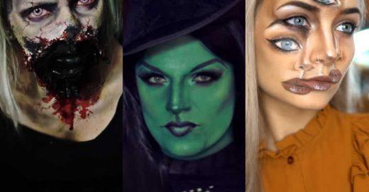 10 maquiagens que você pode fazer para o Halloween