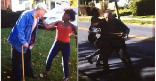 Jovens são presas por agredirem idoso nos EUA; veja vídeo