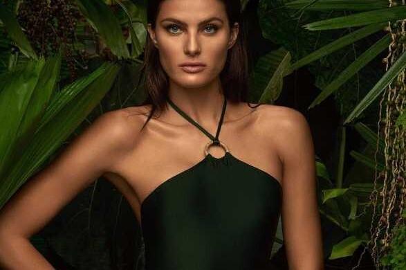 A modelo Isabeli Fontana