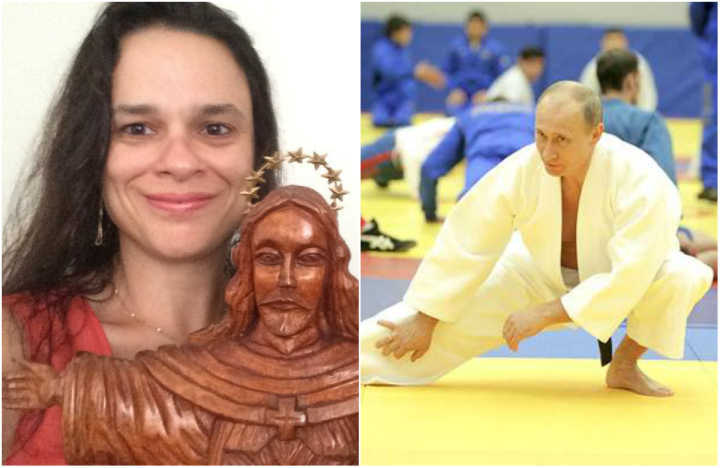 A advogada Janaina Paschoal publicou comentários sobre uma possível invasão da Rússia ao Brasil