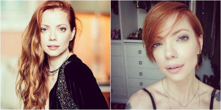 Julia Petit: antes e depois