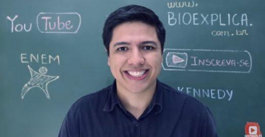 Com humor e didática, professor dá aulas de biologia no YouTube