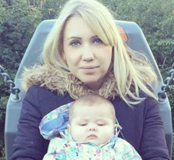 Jodie Shaw e seu filho