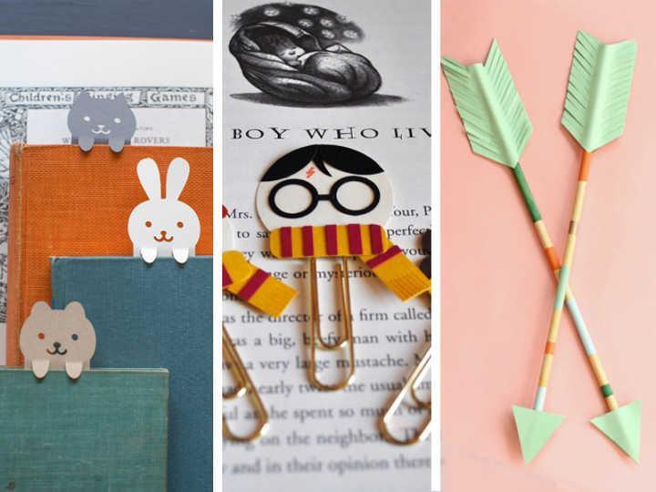 10 Marcadores De Pagina Que Voce Pode Fazer Em Casa